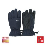 SARUNG TANGAN UNIQLO TOUCH SCREEN HEATTECH Gloves LINING 180245 NAVY