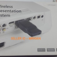 Jual Wireless Presentation System WPS, new, sisa proyek, utk proyektor Murah