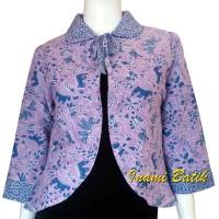 Batik Wanita Bolak Balik / Blazer /cardigan Bolak Balik