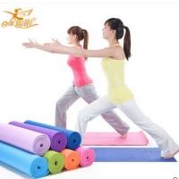 Jual yoga mat/yoga matras 173x61x6 Murah