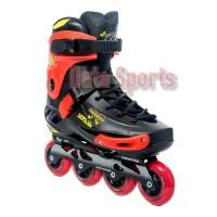 Sepatu Roda Freestyle TDL Slalom+Bonus Frame Lynx CH ( Black/Red )