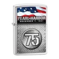 Zippo Original 29176 Pearl Harbor 75th Anniversary - Silver