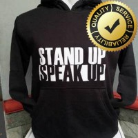 HOODIE NIKE STAND UP,SPEAK UP(ONLY SIZE S,M,L,XL) TEES152 LarisJaya