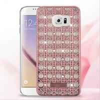 Casing Hp Cover Samsung S6 S6 EDGE S7 S7 EDGE Diamond Luxury Hole