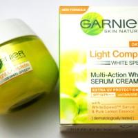harga Garnier Light Complete White Speed Serum Cream Spf 19 - 18ml Tokopedia.com