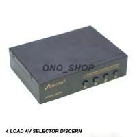 4 Load AV Selector Discern 402VA