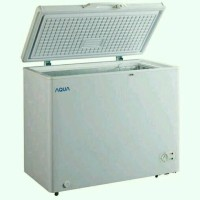 Chest Freezer Aqua Sanyo 200 Liter AQF200W