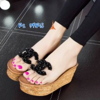harga Wedges mika cantik/ grosir sepatu wanita murah Tokopedia.com