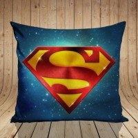 bantal sofa gambar superman