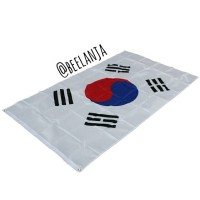 Bendera Korea / Korean National Flag ukuran besar