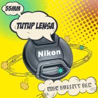 harga Tutup Lensa Nikon 55mm Lens Cap 18-55mm AFP AF-P Tokopedia.com