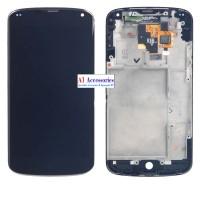 LCD TOUCHSCREEN FRAME LG NEXUS 4 E960 0C