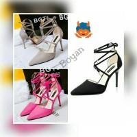 harga heels tali/wedges/boot/casual murah suplier sepatu wanita murah Tokopedia.com