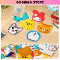 Jual Tatakan Gelas Hello Kitty Doraemon Rilakuma My Melody Murah