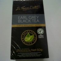 Lipton EARL GREY - Black Tea / Teh Hitam Original