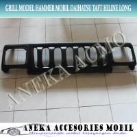 Grill Model Hammer Variasi Fiber Mobil Daihatsu Taft Hiline / Hi-Line