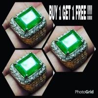 harga BUY 1 GET 1 FREE CINCIN BATU AKIK ZAMRUD ZAMBIA OCTAGON Tokopedia.com