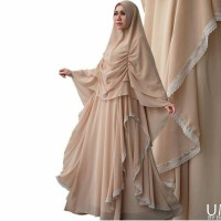 BRANDED GAMIS / DRESS SAUDA SYARI ORI BY INDRA BRUGGMAN