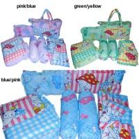 harga BABY GIFT SET: TAS, GENDONGAN, ALAS PERLAK, BANTAL GULING Tokopedia.com