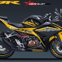 New CBR150R Black GOLD Splash+Velg