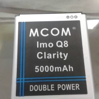 Baterai Imo Clarity Q8 Octa Core Double Power Mcom
