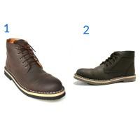 Sepatu Pria Tracking Black Master Zara Boots Hand Made Original Murah