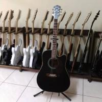 harga Gitar Akustik Elektrik Ibanez Black Tokopedia.com