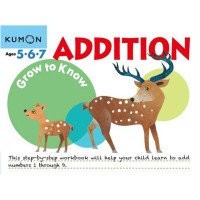 Kumon Grow to Know Addition (Ages 5,6,7)