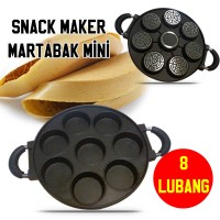 Jual CETAKAN MARTABAK MINI 8 LUBANG / HAPPYCALL / HAPPY CALL / SNACK MAKER Murah