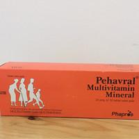 Pehavral isi 10 tablet multivitamin mineral lengkap