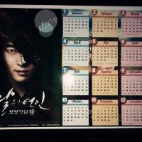 Kalender Moon Lovers Scarlet Heart Ryeo