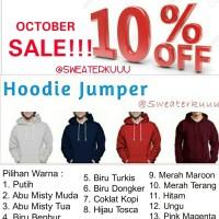 harga jaket hoodie Jumper XXL polos couple unisex murah keren korea Tokopedia.com