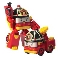 Robocar Poli Robot Mobil Truck PMK Fire Engine ROY ME-096
