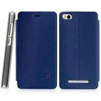 Imak Flip Leather Cover Case Series for Xiaomi mi4i/mi4c - Blue