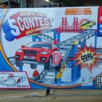 mainan anak laki laki track mobil lintasan mobil track