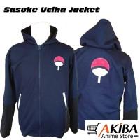 Jaket Anime Hoodie Uchiha Sasuke - Naruto Shippuden