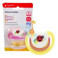 Empeng Bayi Pigeon Silicone Pacifier Step 1 - Ladybug