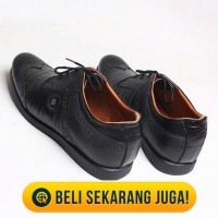 Sepatu Pria Kulit Asli - James Black Formal Shoes LarisJaya