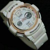 CASIO BABY-G BGA-210 / WHITE ROSE GOLD