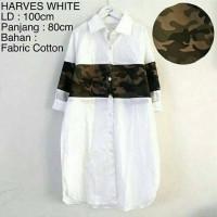 herves white (op0410) / atasan wanita katun murah cantik