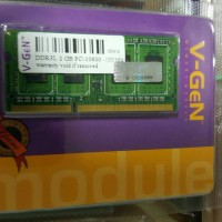 RAM DDR3 SODimm V-GeN 2GB PC10600/1333Mhz (Memory Laptop VGEN)
