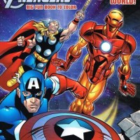 Marvel the Mighty Avengers Coloring Book