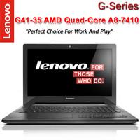 Lenovo G41-35 - A8 7410M - 4GB - 500GB - 14 - Hitam