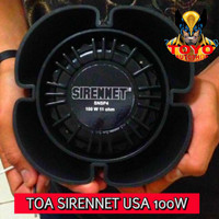 NEW MODEL TOA/SPEAKER SIRENNET SNSP4 100 USA WHELEN SOUND..