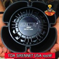 NEW ARRIVAL TOA/SPEAKER SIRENNET SNSP4 100 USA WHELEN SOUND