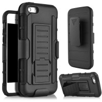 Case Stand Holster Belt Clip Iphone 5 5S SE Full Armor Future Hybird