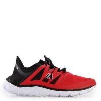 Original Sepatu League Kumo Racer Black/Flame Scarlet