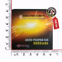 Baterai / Battery GRACE - AXIOO PICOPAD GEA 5  / 4000mAh Double Power