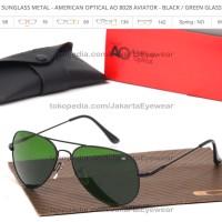 b0508ae4ba SALE AO American Optical 8028 - Green Glass Lens Desain aviator yang a
