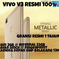 Vivo V3 With FingerPrint / Gransi Resmi